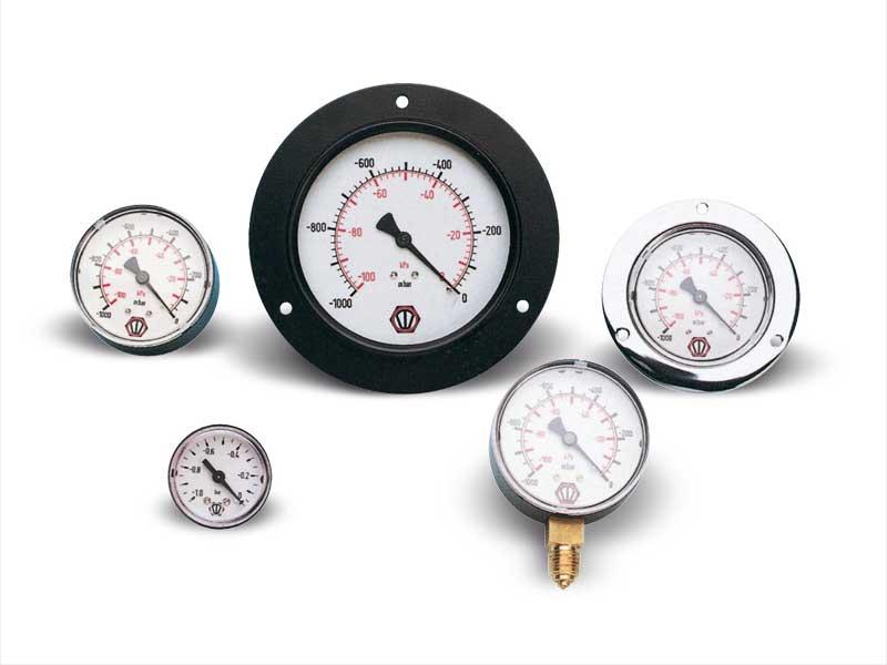 Vakuummeter und manometer