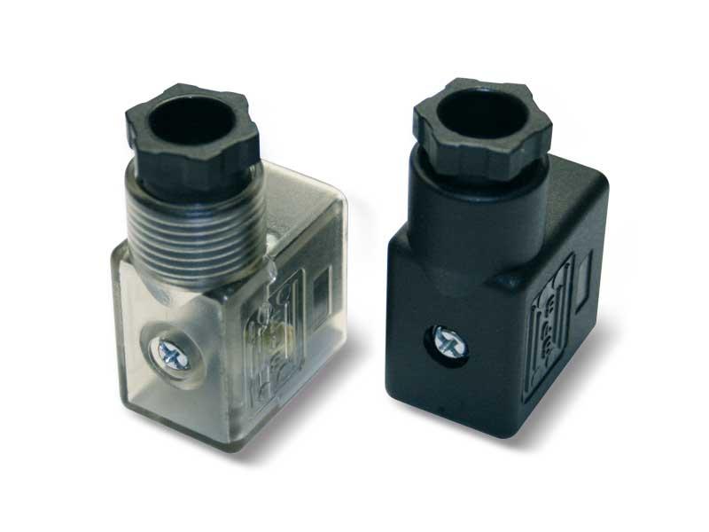 Zubehör und Ersatzteile für Magnetventile - Stecker für Spulen