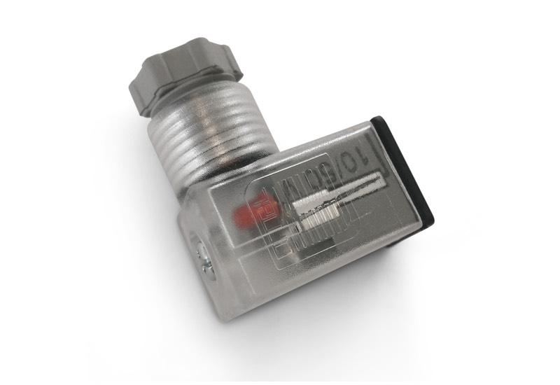 Mikro-Stecker EN 175301 - 803 (Ex DIN 43650) - C, für Spulen-servogesteuerte Magnetventile