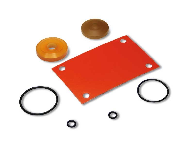 Dichtungssatz für Magnetventile mit geringer Absorption elektrischer Spule