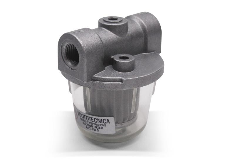 Saugfilter mit Metalleinsatz FB