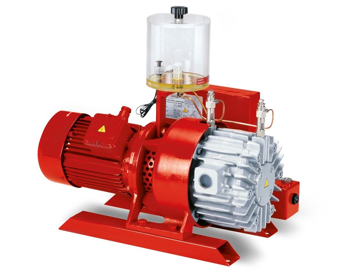 Vakuumpumpen VTLP 40/G1, VTLP 50/G1 und VTLP 65/G1 mit Verlust-Schmierung
