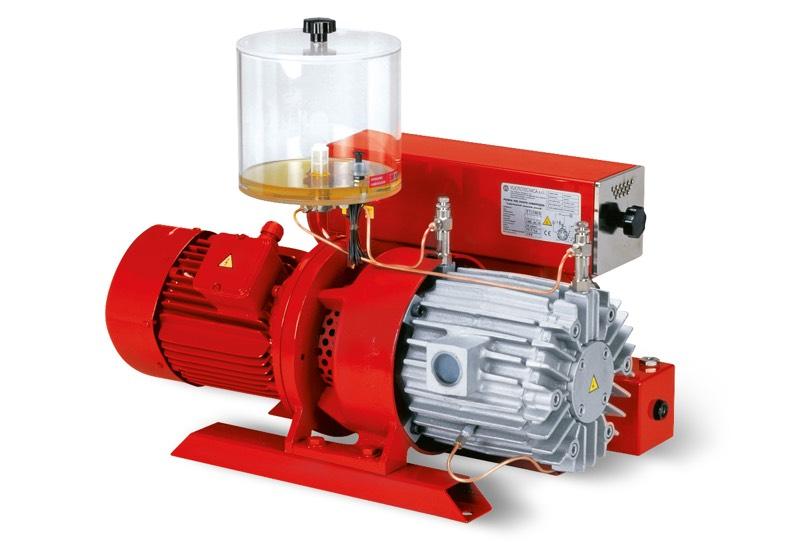 Vakuumpumpen VTLP 75/G1, VTLP 90/G1 und VTLP 105/G1 mit Verlust-Schmierung