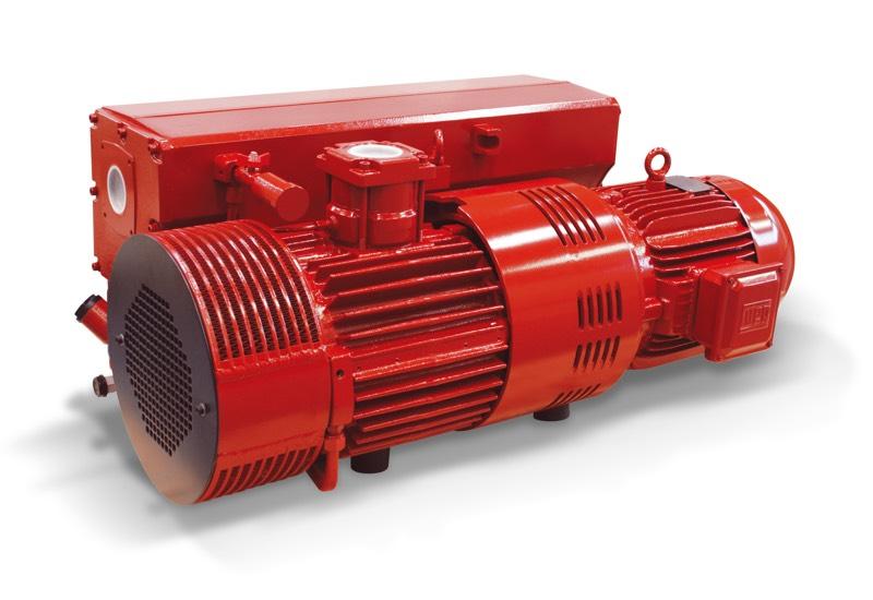 Vakuumpumpen RVP 250 und RVP 300 im Ölbad