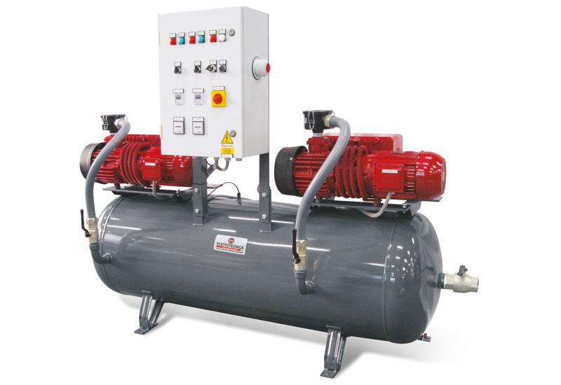 Horizontale Sicherheits-Vakuumsystemen DSO 300V ... und DSO 500V