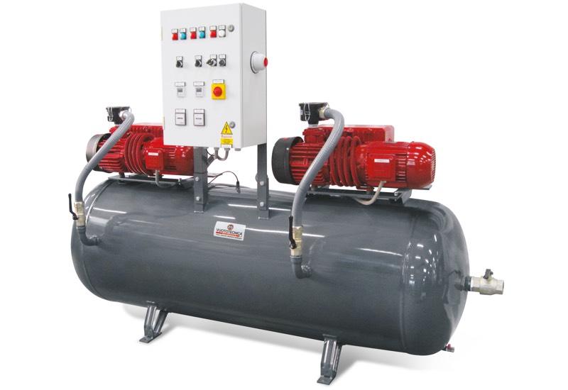 Horizontale Sicherheits-Vakuumsystemen DSO 1000V ...