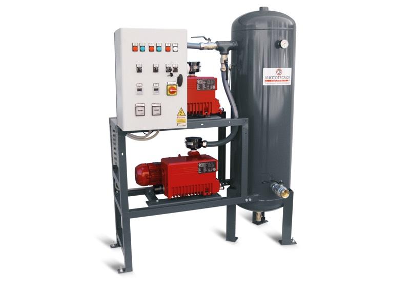 Vertikale Sicherheits-Vakuumsystemen – Eigenschaften