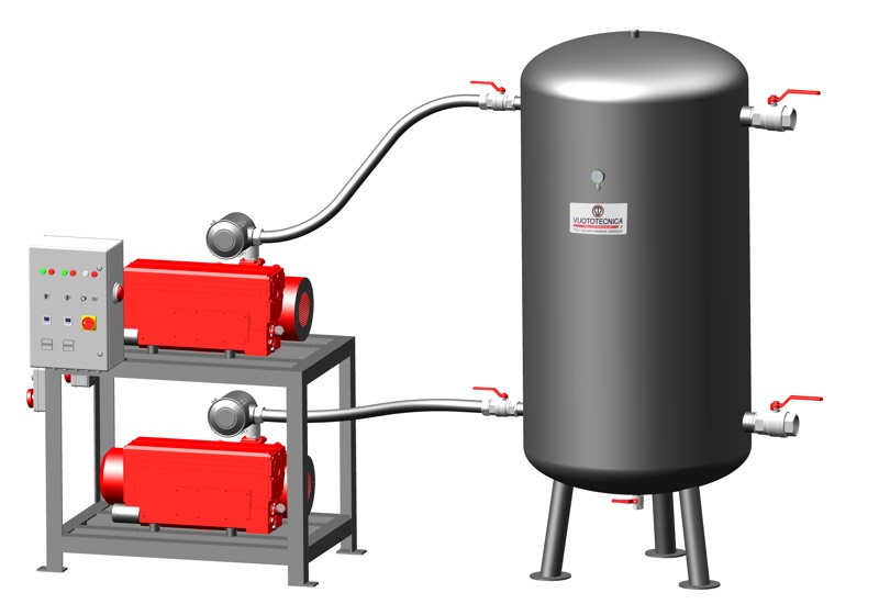 Vertikale Sicherheits-Vakuumsystemen DSV 2000V ...