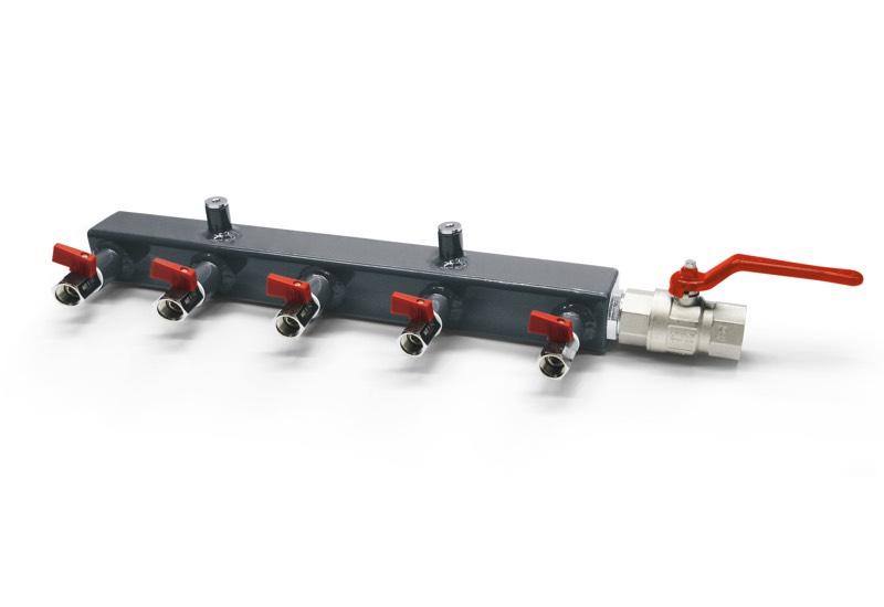 Verteiler für Vakuumpumpen und Vakuumsystemen