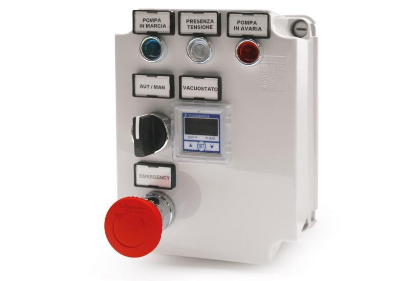 Elektrisches Steuergerät für Minivakuumsystemen