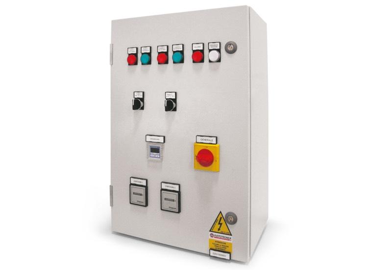 Elektrische Steuergeräte für Vakuumsystemen mit zwei Pumpen