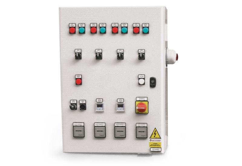 Elektrisches Steuergerät für Sicherheits-Vakuumsystemen mit vier Pumpen