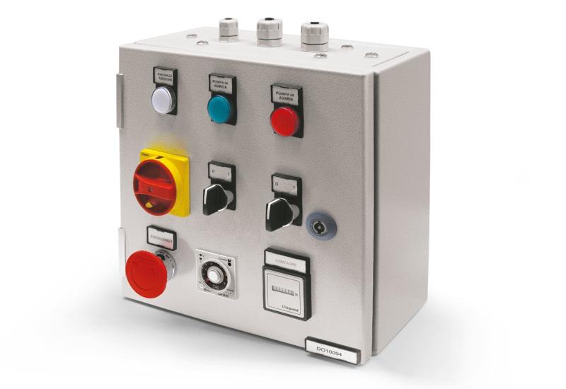 Elektrische Sicherheitssteuergeräte für Einzelpumpe