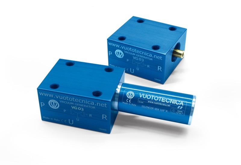 Einstufige Vakuumerzeuger VG 03, VG 03 LP und VG 05 LP