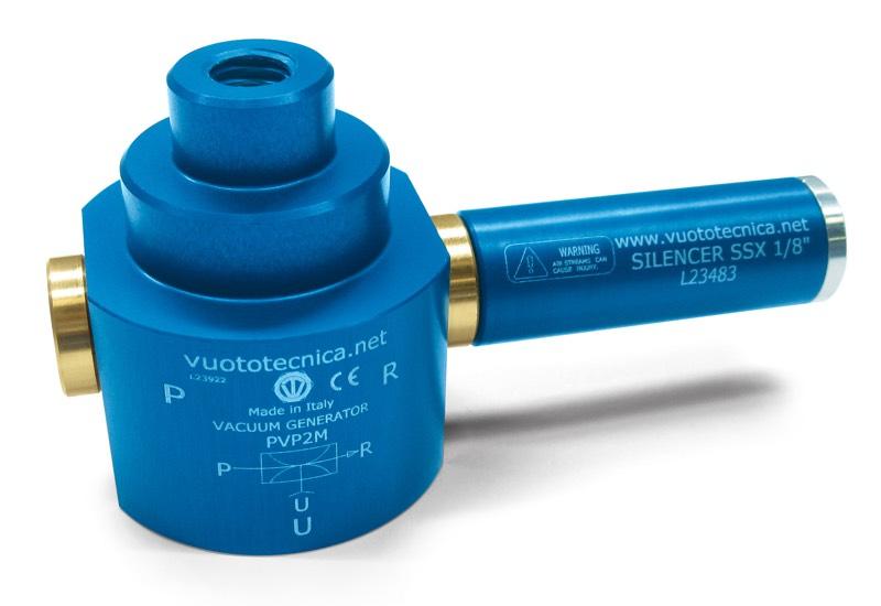 Einstufige Vakuumerzeuger PVP 2 M, PVP 2 MM1, PVP 2 MM2 und PVP 2 MM3