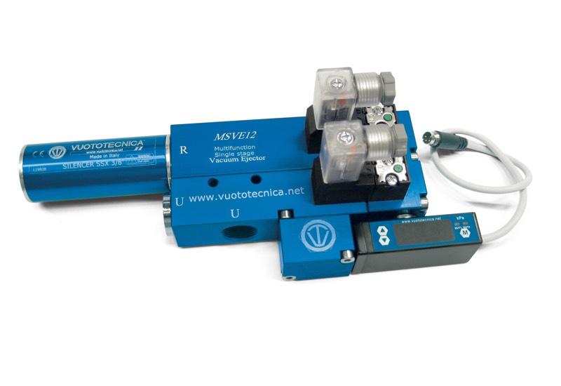 Einstufige Multifunktions-Vakuumerzeuger, MSVE 8 und MSVE 12