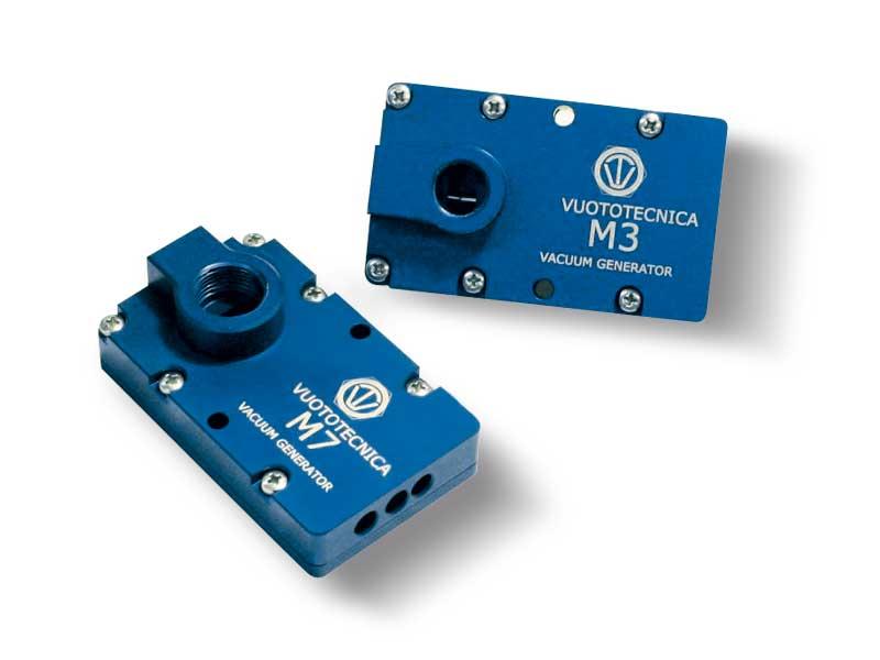 Mehrstufiger Vakuumerzeuger serie M