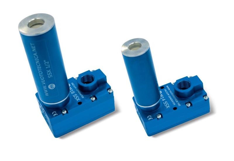 Mehrstufige Vakuumerzeuger M 10 SSX, M 14 SSX und M 18 SSX