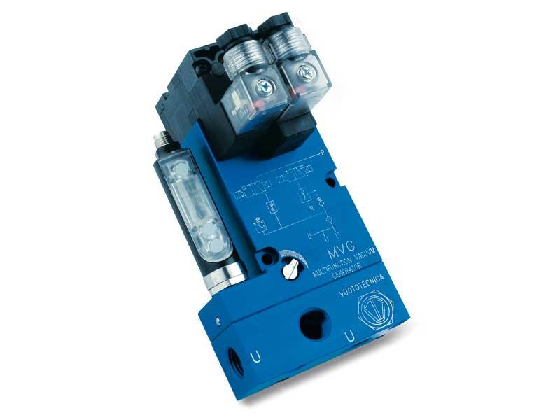 Mehrstufige Multifunktions-Vakuumerzeuger, serie MVG - Eigenschaften
