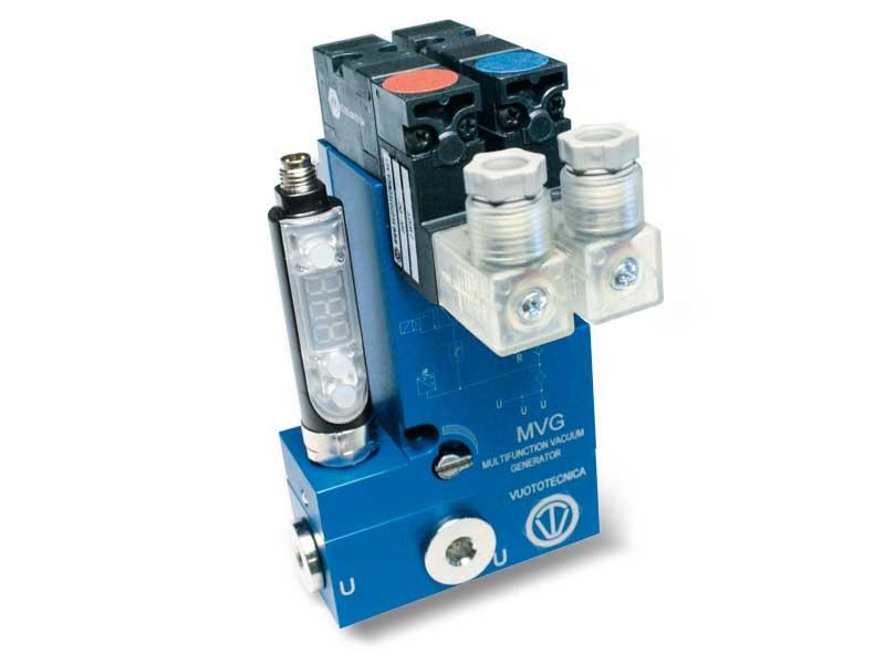 Mehrstufige Multifunktions-Vakuumerzeuger MVG 3 und MVG 7