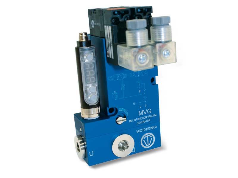 Mehrstufige Multifunktions-Vakuumerzeuger MVG 10 und MVG 14