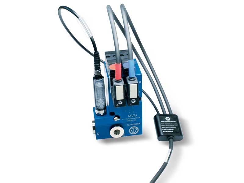 Zubehör und Ersatzteile für Mehrstufige und Multifunktions-Vakuumerzeuger, serie MVG