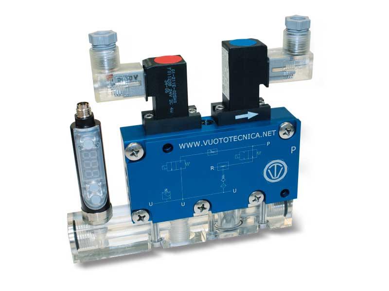 Mehrstufige, Multifunktions- und modulare Vakuumerzeuger, serie GVMM – Eigenschaften