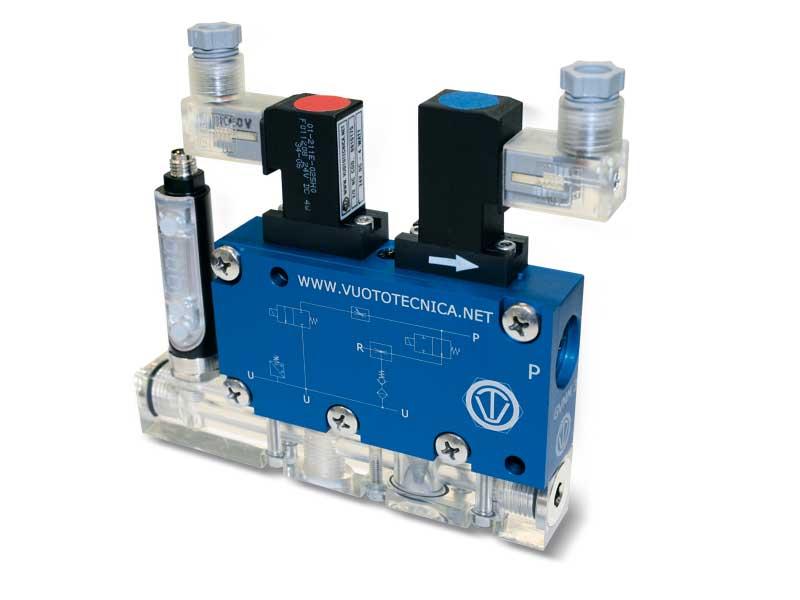 Mehrstufige, modulare Multifunktions-Vakuumerzeuger, GVMM 3 und GVMM 7