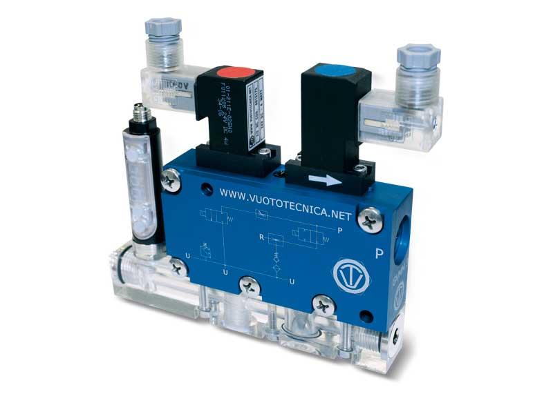 Mehrstufige, modulare Multifunktions-Vakuumerzeuger, GVMM 10 und GVMM 14