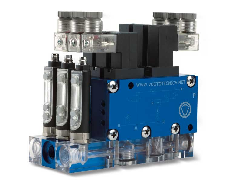 Mittlere, mehrstufige, modulare Multifunktions-Vakuumerzeuger, serie MI – Eigenschaften