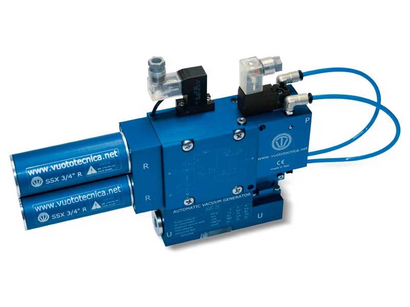 Einstufige Multifunktions-Vakuumerzeuger, serie AVG – Eigenschaften