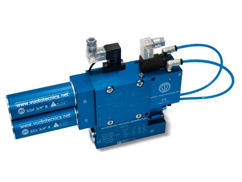Einstufige Multifunktions-Vakuumerzeuger, AVG 18 und AVG 25