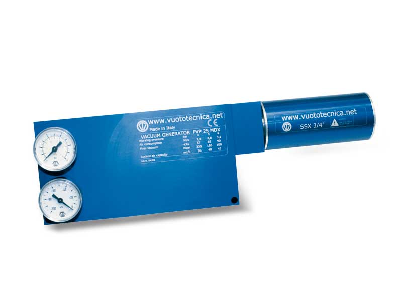 Mehrstufige Vakuumerzeuger PVP 25, PVP 35 und PVP 50 MDX / MDXLP
