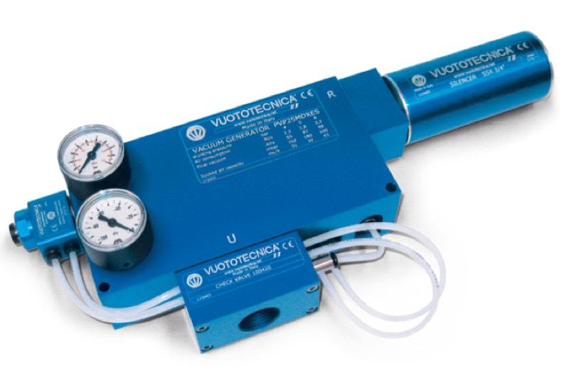 Zubehör für Vakuumerzeuger PVP 25 ÷ 75 MDX / MDXLP
