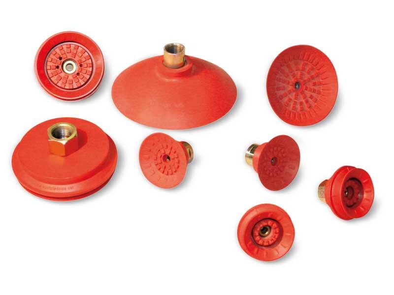 Maxigrip cups - Runde flache und faltenbalgsauggreifer
