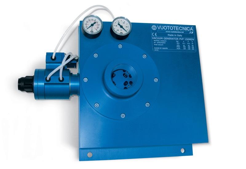 Mehrstufige und modulare Vakuumerzeugerpvp 150 ÷ 750 MD / MDLP – Eigenschaften