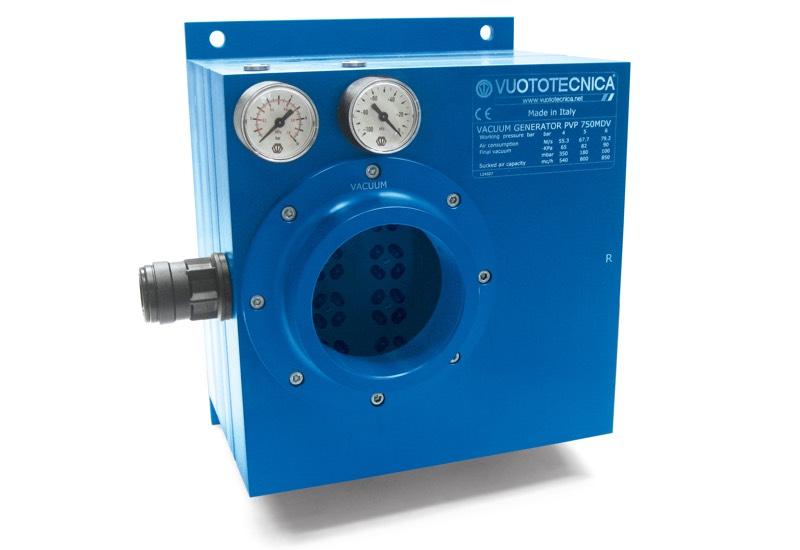 Mehrstufige und modulare Vakuumerzeuger PVP 750 MD / MDLP