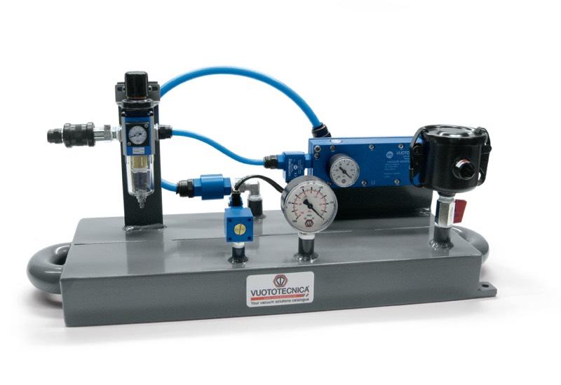 Pneumatische Minivakuumpumpen DOP 06 und DOP 10