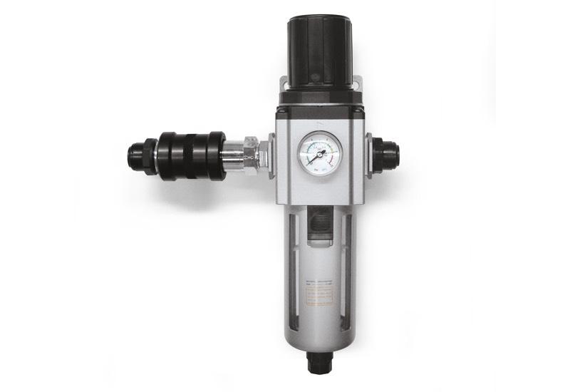 Pneumatische Ausrüstung für die Versorgung von Vakuumpumpen DOP 150 und DOP 300