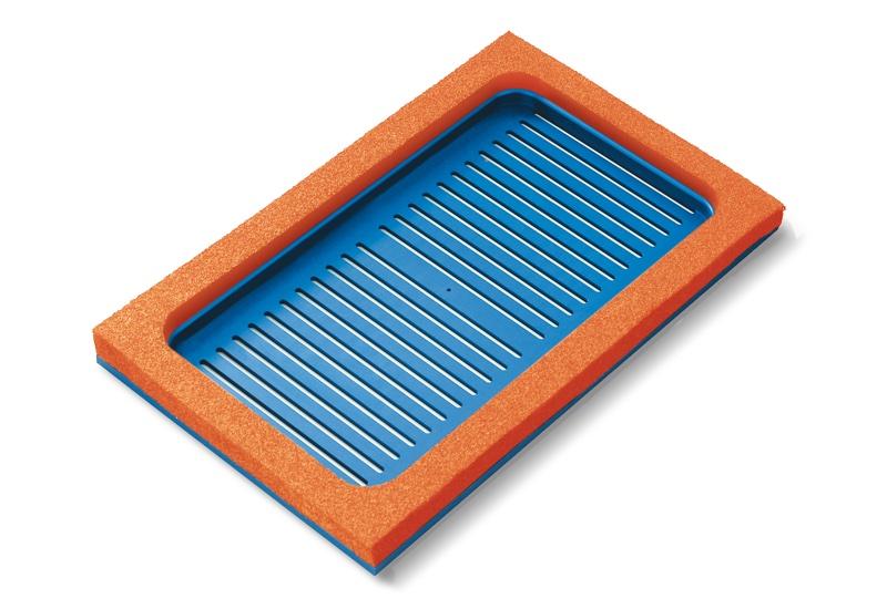 Saugplatten zum Greifen von PJ-Verpackungen, für Systeme OCTOPUS