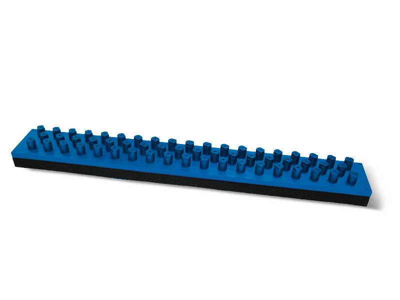 Saugplatten mit selbstschliessende Ventile PXE und P2XE, für OCTOPUS-Greifleisten