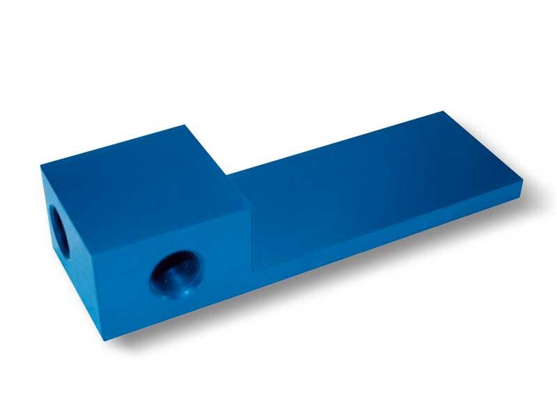 Verschlussplatte mit Verteiler, für OCTOPUS-Greifleisten ohne Vakuumerzeuger