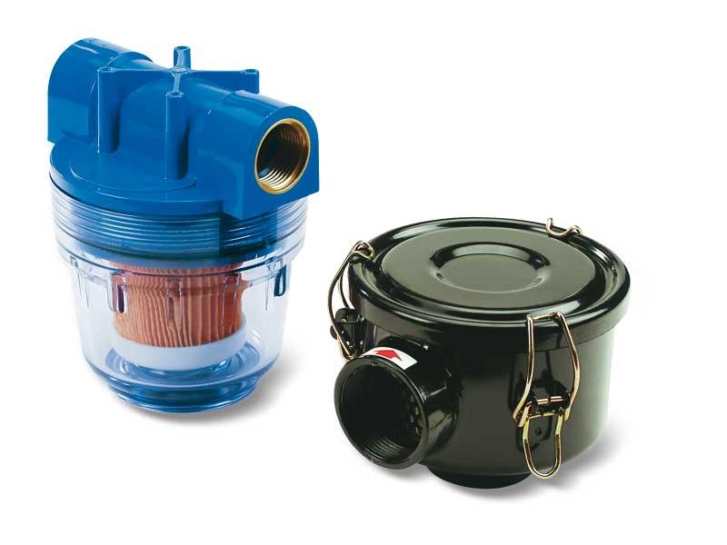 Saugfilter für Pneumatische Saugpumpen und Gebläsepumpen