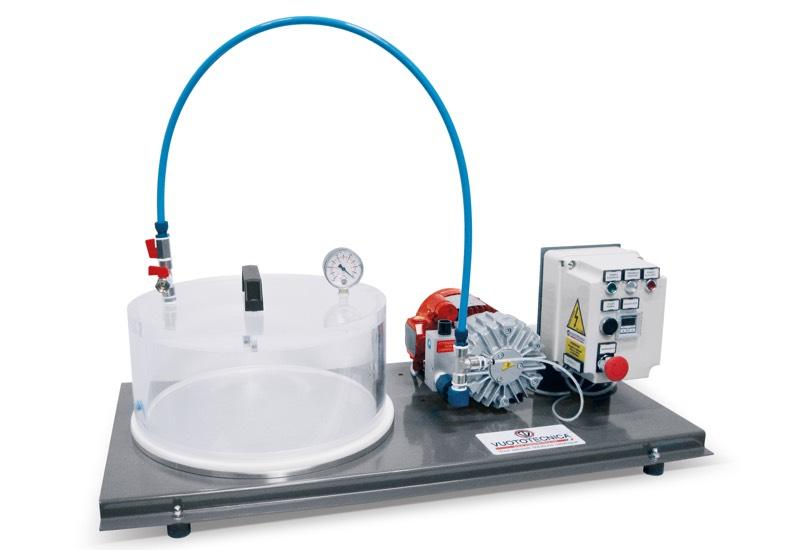 Elektrische Apparate für Vakuumtests