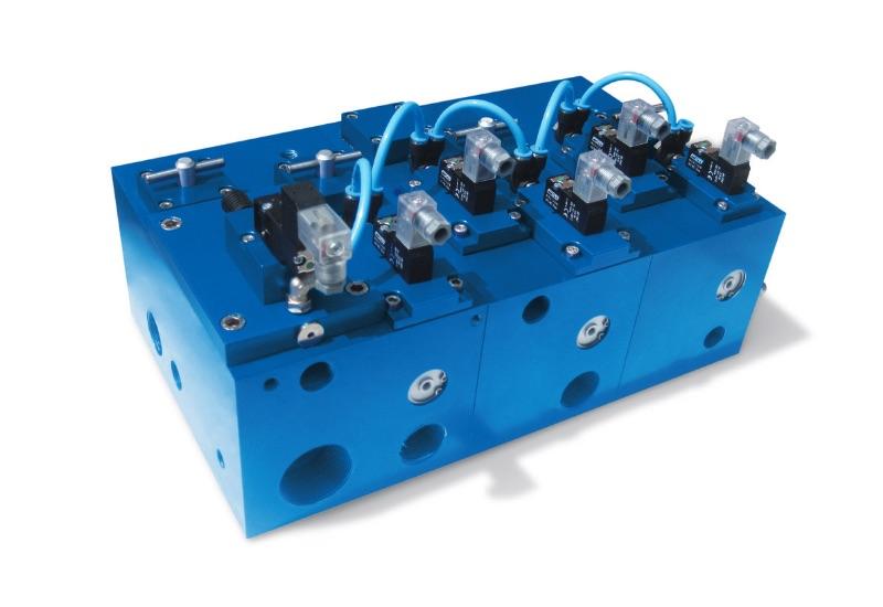Magnetventile - Sonderausführungen auf Anfragemultifunktionsmodule, mit integrierten Vakuum-Magnetventilen