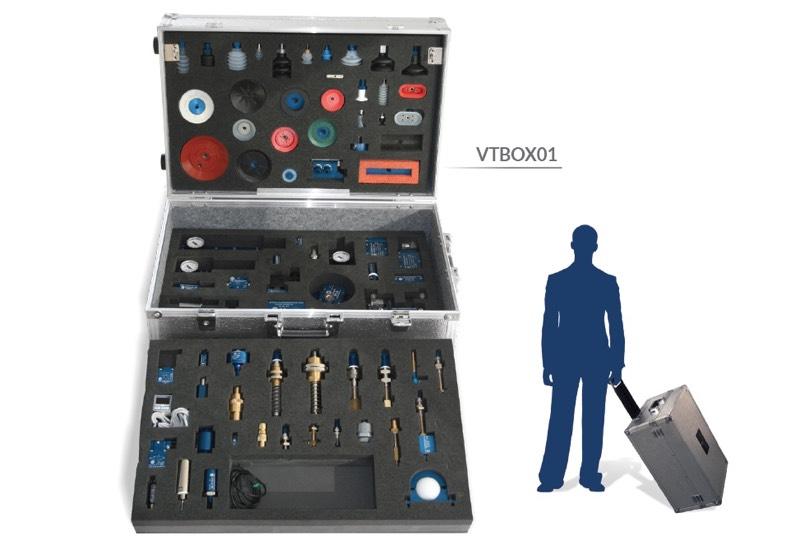 Muster und ausrüstungen für demonstrationszwecke - Vacuum training box - VTBOX01