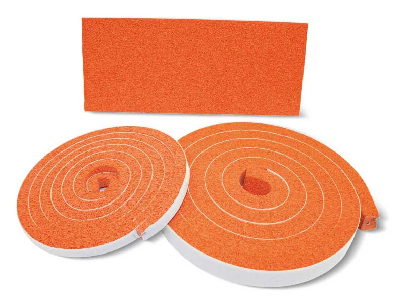 Platten und streifen aus moosgummi